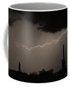 Across The Desert - Sepia Print Coffee Mug by James BO  Insogna