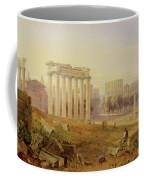 Across The Forum - Rome Coffee Mug by Hugh William Williams