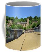 Across The Iron Bridge Coffee Mug