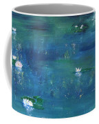 Across The Lily Pond Coffee Mug