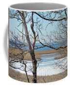 Across The Marsh To Woodneck Beach - Cape Cod Coffee Mug