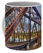 Across The Water 6th Street Rr Bridge Augusta Georgia Art Coffee Mug