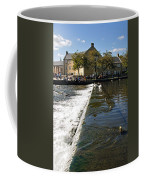 Across The Weir At Bakewell Coffee Mug