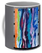 Acrylic Pouring Coffee Mug