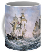 Action Between U.s. Sloop-of-war 'wasp' And H.m. Brig-of-war 'frolic' Coffee Mug