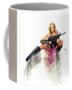 Action Girl Coffee Mug