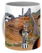 Actor Jonathan Harris As Dr Smith From Lost In Space II Coffee Mug