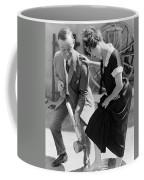 Actress Gets Feet Sprayed Coffee Mug
