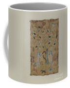 Adam & Eve Embroidered Picture Coffee Mug