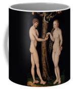 Adam And Eve In The Garden Of Eden Coffee Mug