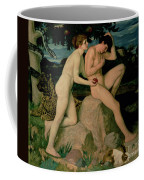 Adam And Eve  Coffee Mug by William Strang