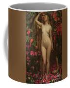 Adam And Eve With The Snake Coffee Mug