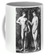 Adam & Eve Coffee Mug