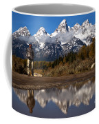 Adam Jewell At Schwabacher Landing Coffee Mug