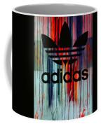 Adidas Plakative - Typografie Coffee Mug