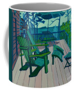 Adirondack Chairs Maine Coffee Mug