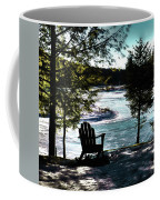 Adirondack Silhouette Coffee Mug