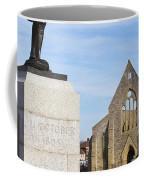 Admiral Lord Nelson And Royal Garrison Church Coffee Mug