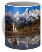 Admiring The Teton Sights Coffee Mug