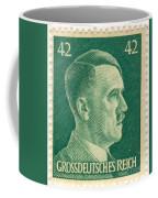 Adolf Hitler 42 Pfennig Stamp Classic Vintage Retro Coffee Mug