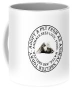 Adopt A Pet T-shirt Design Coffee Mug