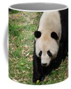 Adorable Face Of A Black And White Giant Panda Bear Coffee Mug