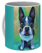 Adorable Boston Terrier Dog Coffee Mug