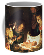 Adoration Of The Baby Coffee Mug