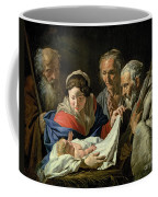 Adoration Of The Infant Jesus Coffee Mug