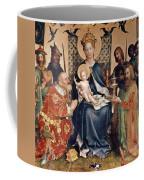 Adoration Of The Magi Altarpiece Coffee Mug by Stephan Lochner