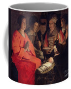 Adoration Of The Shepherds Coffee Mug by Georges de la Tour