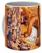 Adoration Of The Shepherds Nativity Coffee Mug