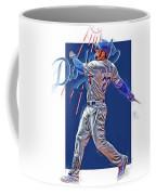 Adrian Gonzalez Los Angeles Dodgers Oil Art Coffee Mug