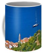 Adriatic Town Of Vis Sailing Destination Waterfront Coffee Mug