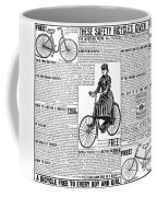Advertisement, 1891 Coffee Mug