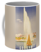 Advertisement For Travel To Geneva Coffee Mug