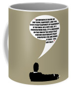 Advertising Is Happiness - Mad Men Poster Don Draper Quote Coffee Mug