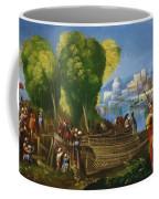 Aeneas And Achates On The Libyan Coast 1520 Coffee Mug