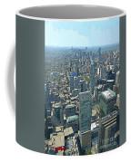 Aerial Abstract Toronto Coffee Mug