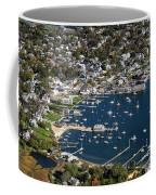 Aerial Edgartown Coffee Mug