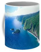 Aerial Of North Shore Coffee Mug