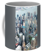 Aerial Of One World Trade Center, New York, Usa Coffee Mug