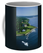 Aerial Of The Breakers, A Mansion Built Coffee Mug