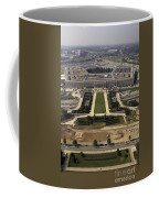 Aerial Photograph Of The Pentagon Coffee Mug