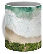 Aerial View Of Anse Intendance - Mahe - Seychelles Coffee Mug