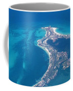 Aerial View Of Cancun Coffee Mug