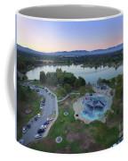Aerial View Of Lake Balboa Park  Coffee Mug