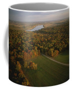 Aerial View Of Shiloh. The Tennessee Coffee Mug by Sam Abell