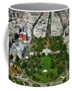 Aerial View Of The White House Coffee Mug