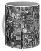 Aerial View Of Union Square Coffee Mug